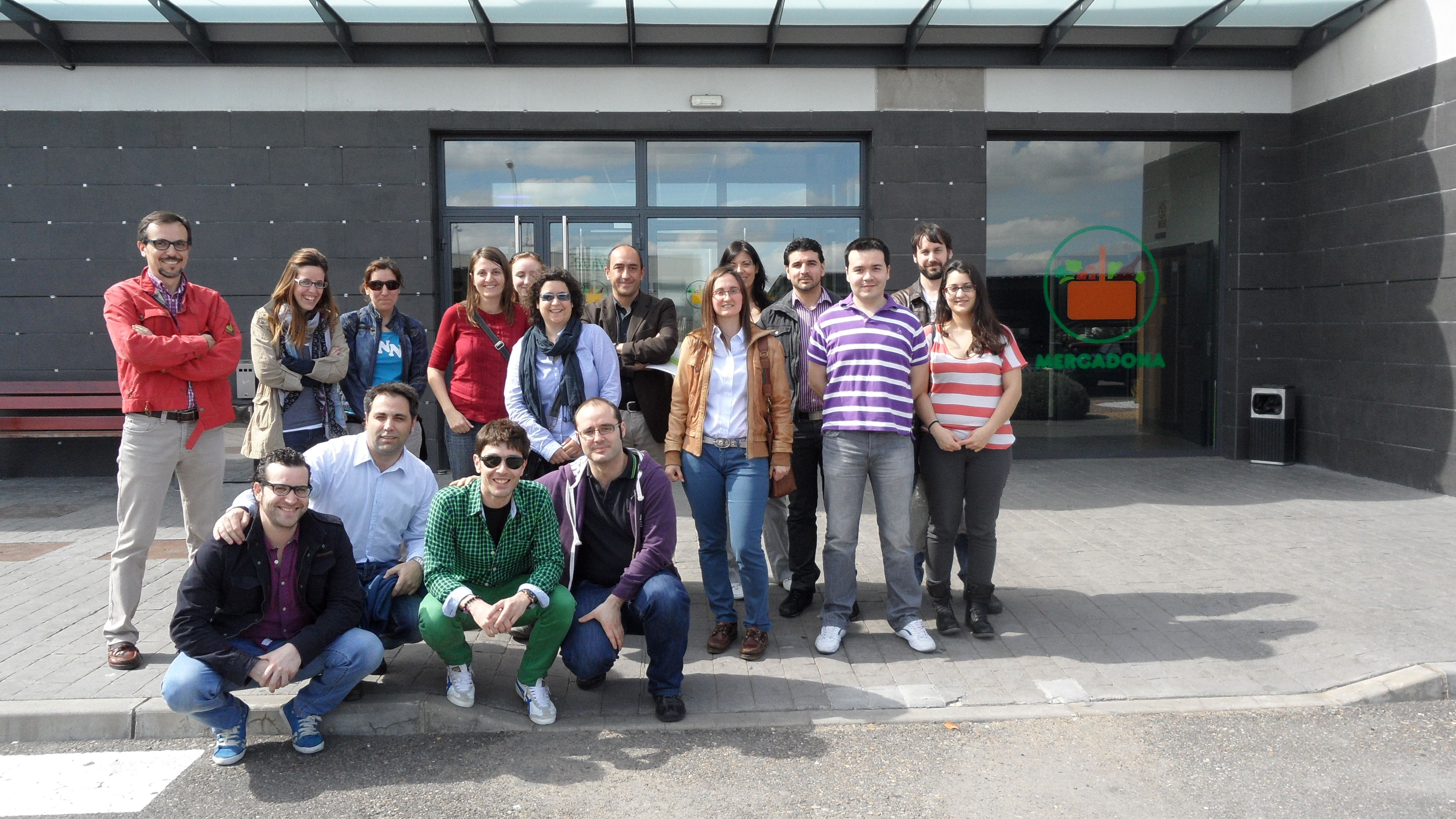 Alumnos del Máster Executive Supply Chain Mangement - visita master supply