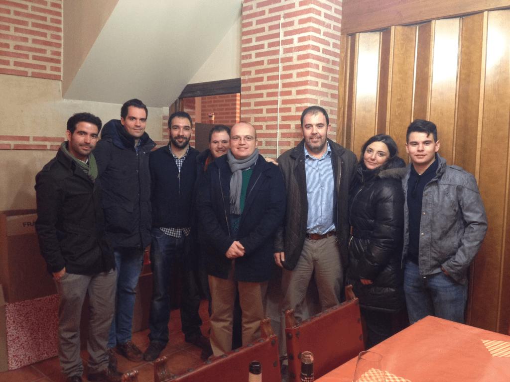 Visita del MBA a Cuatro Rayas