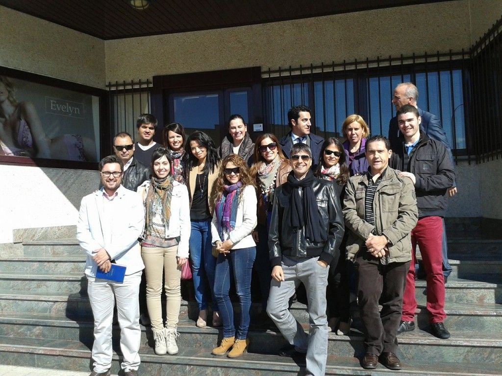 Alumnos del Master en Marketing en Evelyn